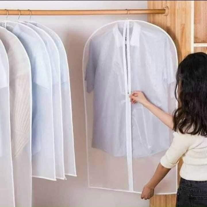 Set 4 túi bọc quần áo treo tủ (4 cỡ)
