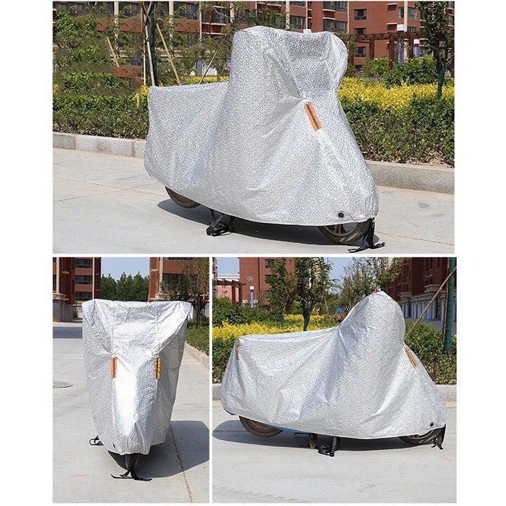 Bạt phủ xe máy phản quang