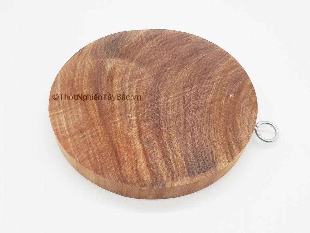 Thớt gỗ nghiến H7 (ĐK 28cmx2,5cm)