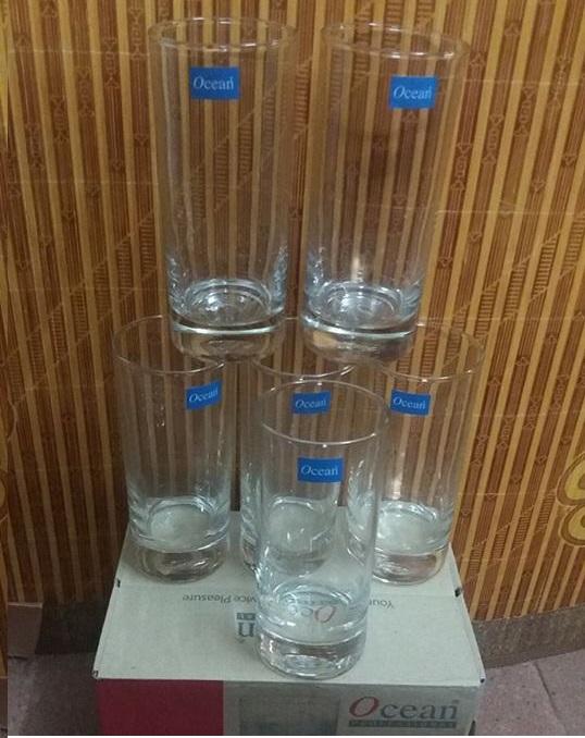 Bộ 6 cốc uống nước Ocean cao