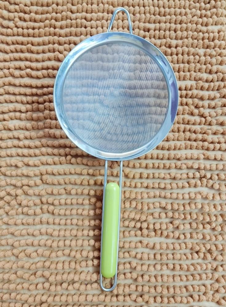 Lọc cua tay cầm xanh ĐK 16cm