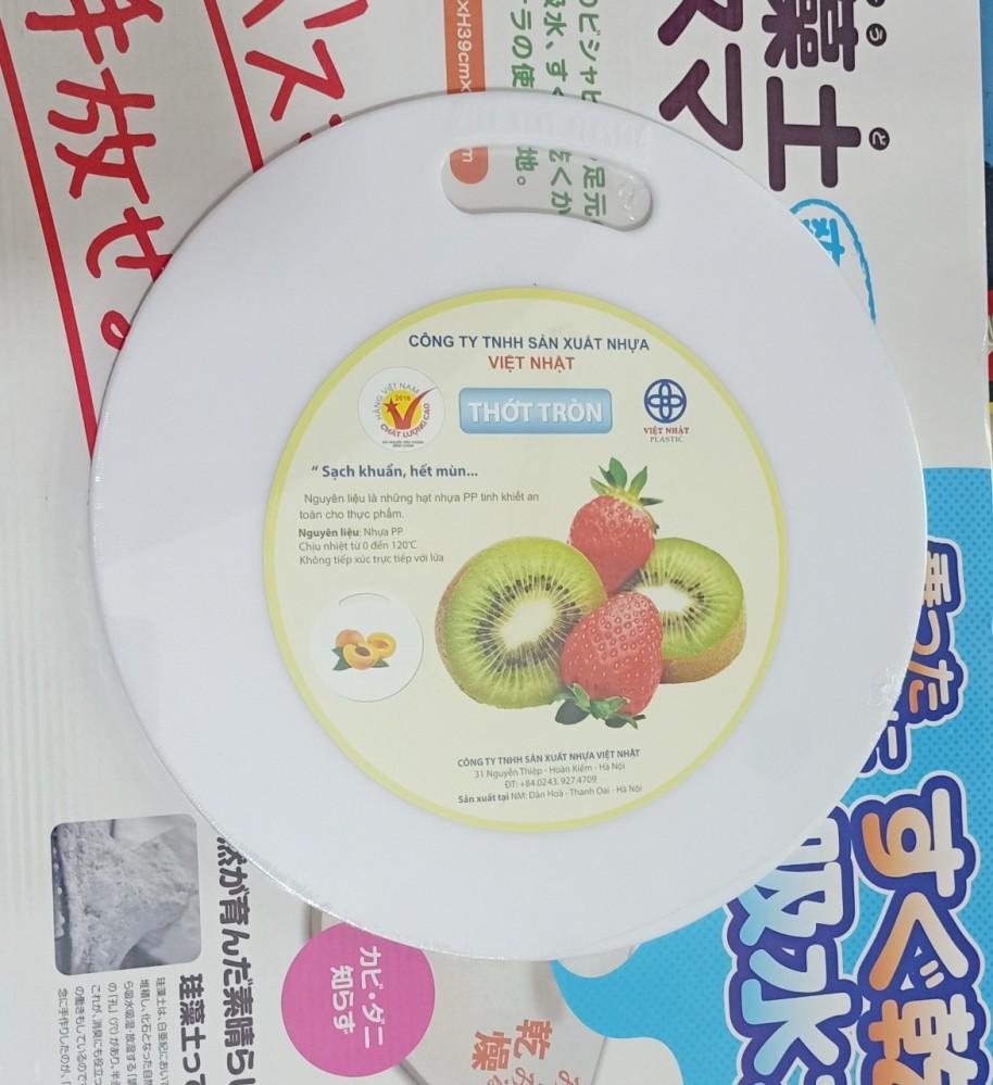 Thớt nhựa tròn to Việt Nhật
