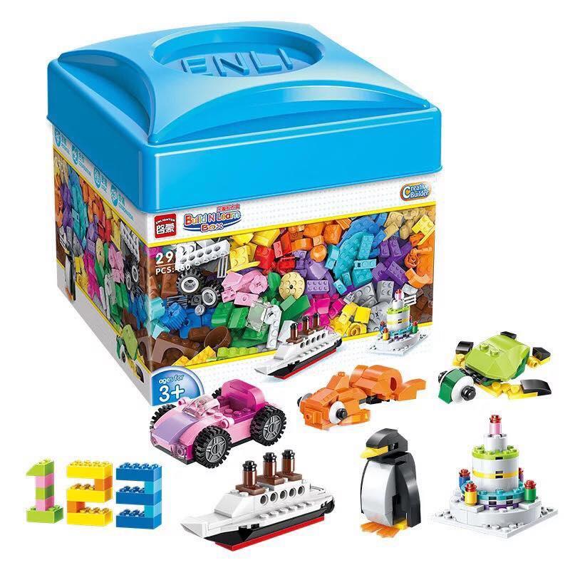 Bộ lego 460 miếng (hộp nhựa)