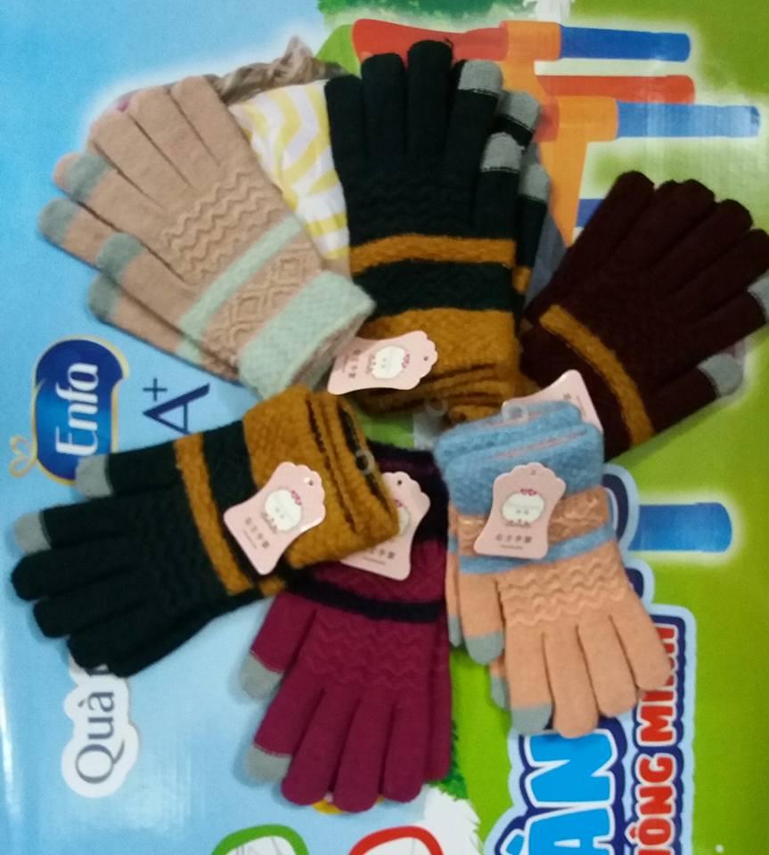 Găng tay len cho nữ