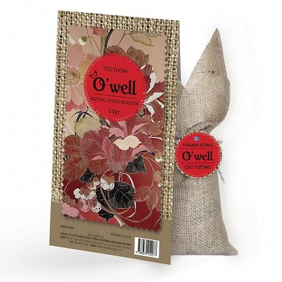 Túi thơm O'well 25g (hương Thảo Mộc hoặc Thảo Nguyên)