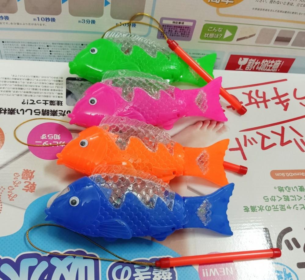 Đèn lồng cá chạy pin