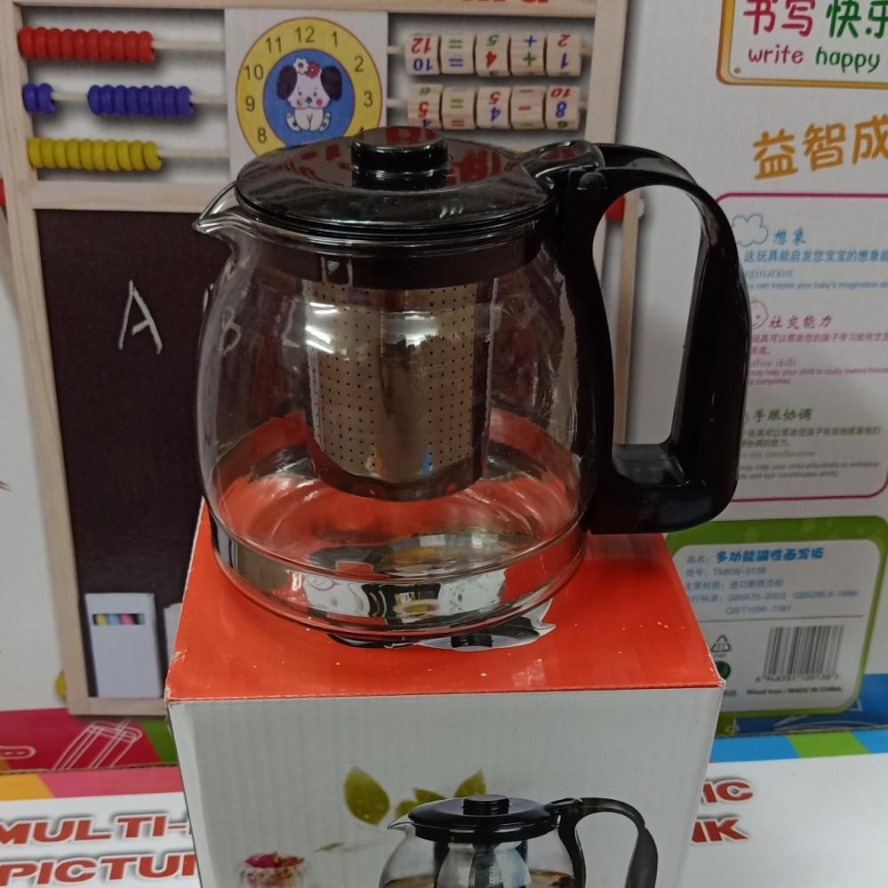 Bình lọc trà thủy tinh 800ml