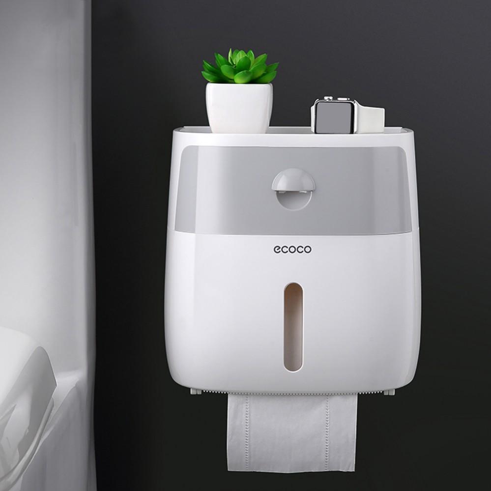 Hộp đựng giấy vệ sinh và để đồ ecoco