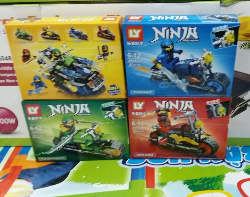 Hộp lego ninza mẫu mới (4 mẫu)