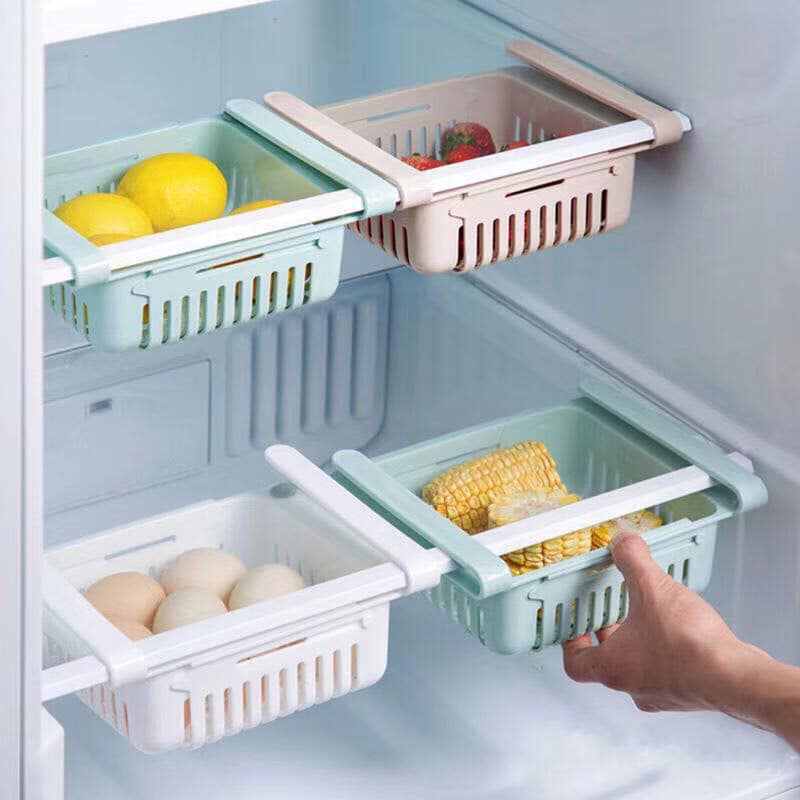 Khay cài tủ lạnh - tiết kiệm diện tích