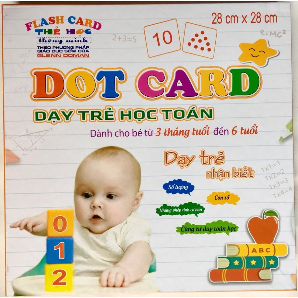 Bộ thẻ học toán thông minh Dot Card
