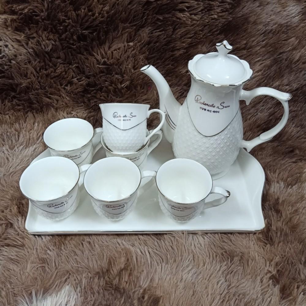 Bộ cốc cao uống nước cao H9-1 (trắng sần)