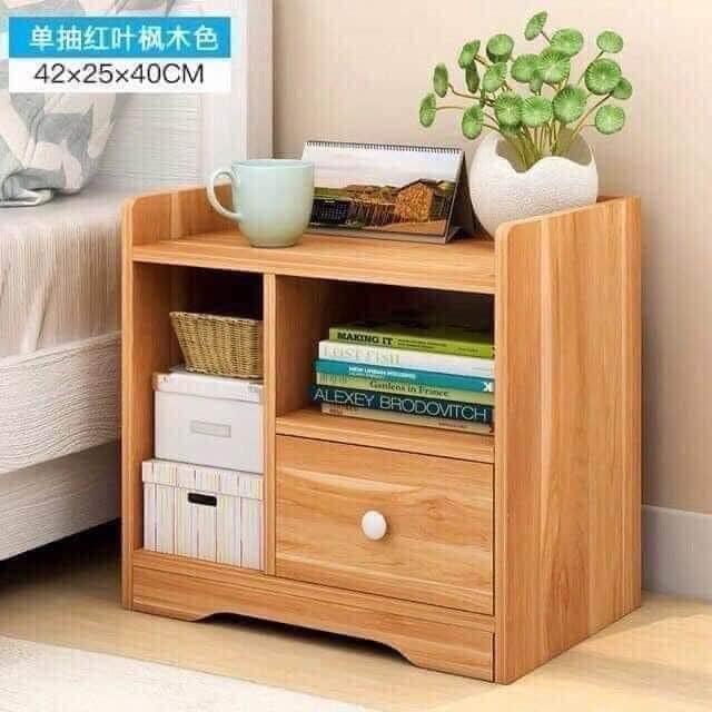 Tủ đầu giường gỗ 1 ngăn kéo