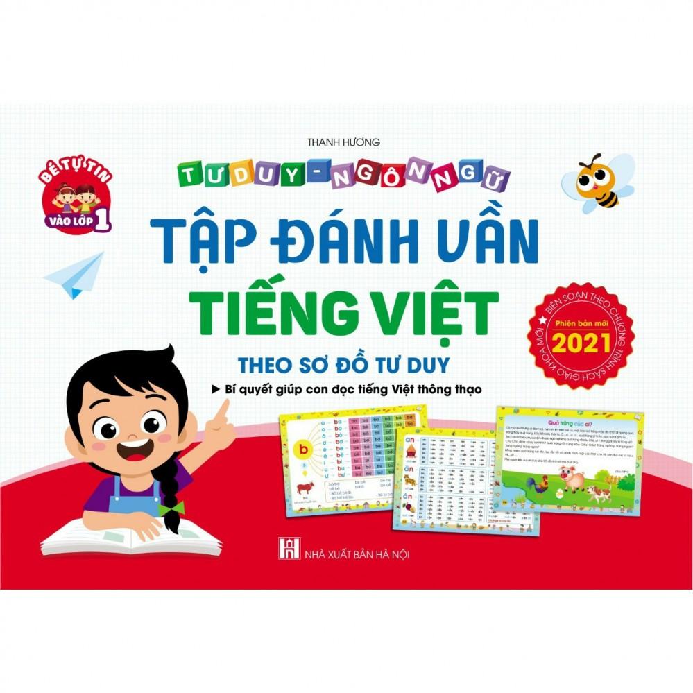 Sách tập đánh vần tiếng Việt 2021 (123 trang)