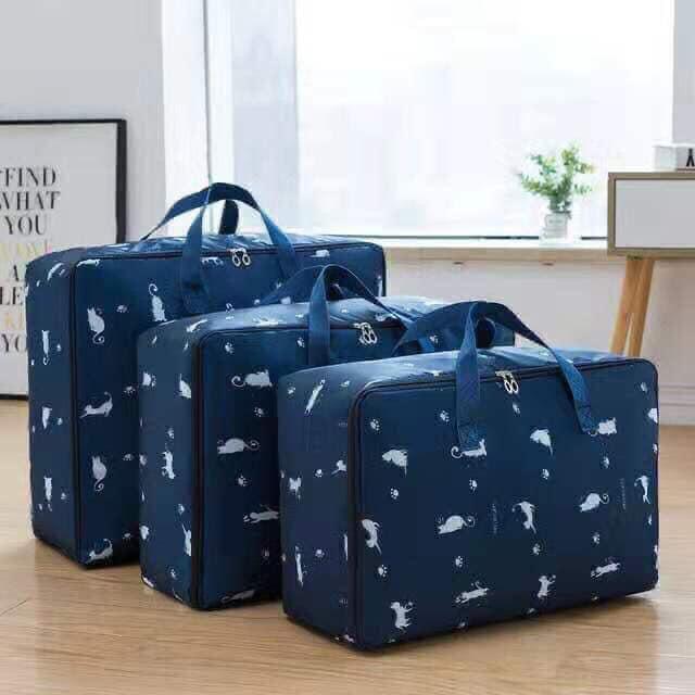 Bộ 3 túi đựng quần áo chăn màn họa tiết