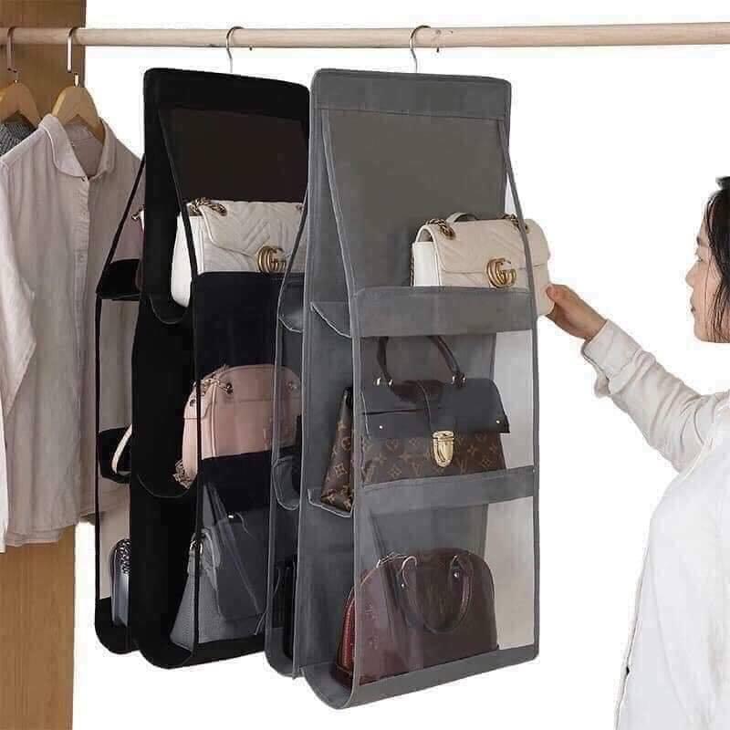 Túi treo bảo vệ túi xách 6 ngăn