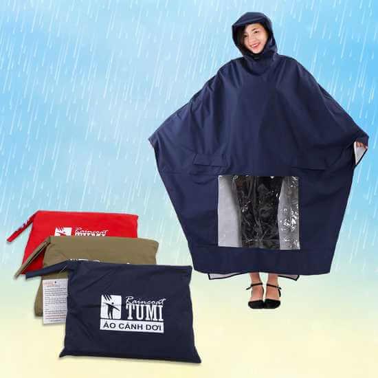 Áo mưa siêu nhẹ Tumi