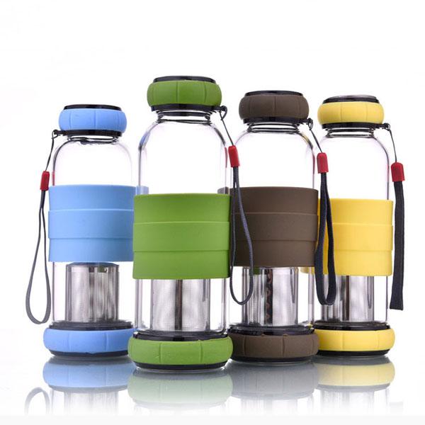 Bình pha trà thủy tinh 450ml