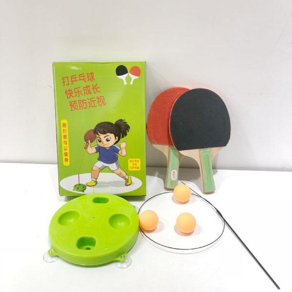 Bộ bóng bàn phản xạ vợt gỗ