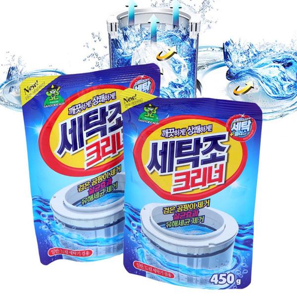 Túi bột tẩy vệ sinh lồng máy giặt Hàn Quốc