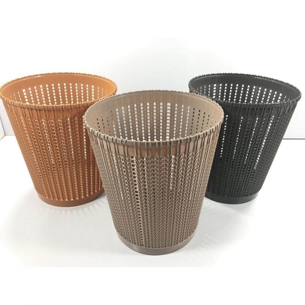Sọt nhựa đan 5515-2 (ĐK 24cm, cao 27cm)