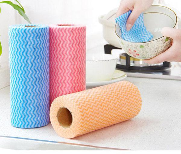 Cuộn giấy ráp lau chùi đa năng