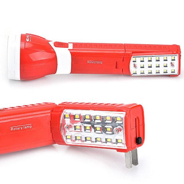 Đèn pin sạc điện kèm đèn KM-8730