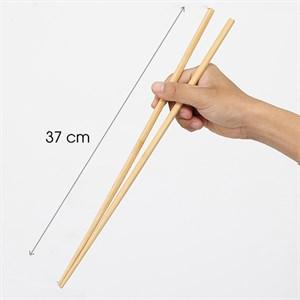 1 đôi đũa nấu - gỗ xuất Nhật dài 40cm (đũa xào)