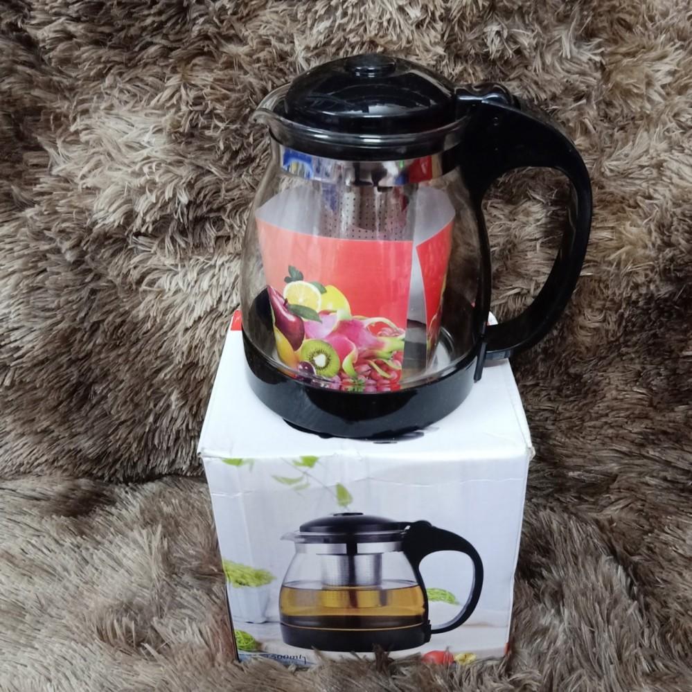 Bình lọc trà thủy tinh 1500ml