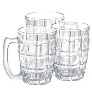 Bộ 6 cốc quai Thái (uống nước, bia)