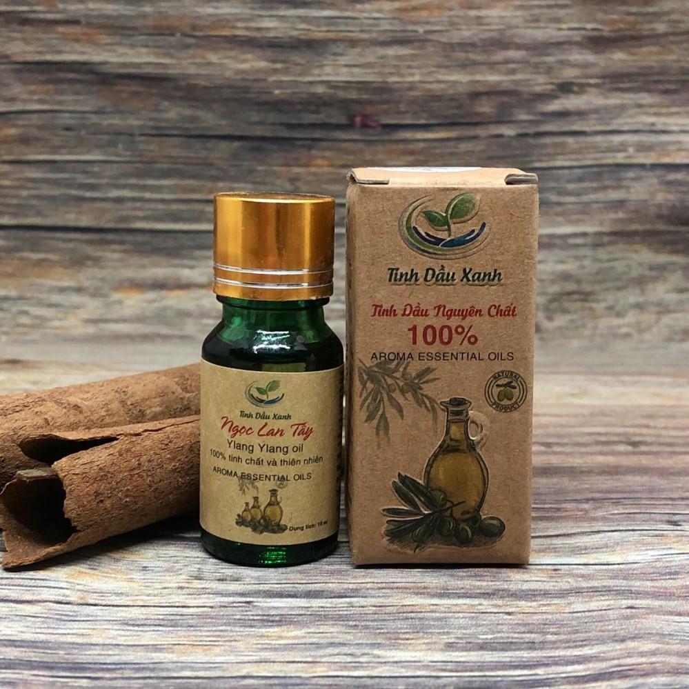 Tùy chọn tinh dầu Xanh 10ml: cafe, ngọc lan tây, oải hương, hồng, ly, nhài, cam, bưởi, quế, trầm hương, sả, sả chanh
