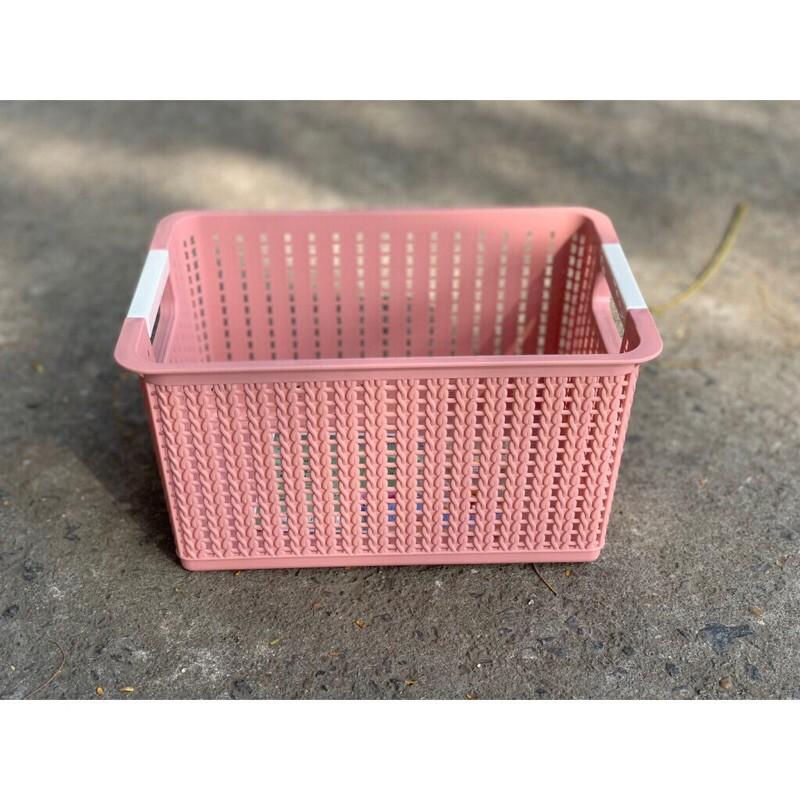 Giỏ nhựa đan 3415-1 (26x18x14cm)