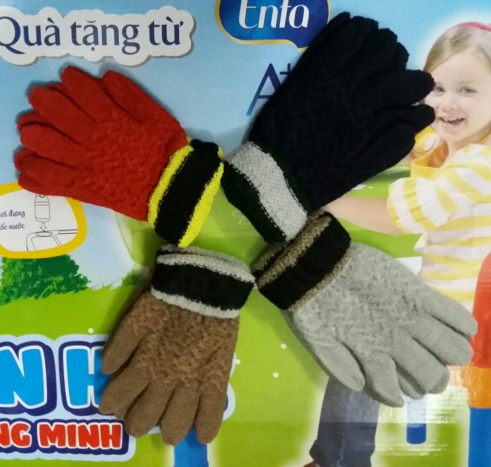 Găng tay len cho trẻ lớn