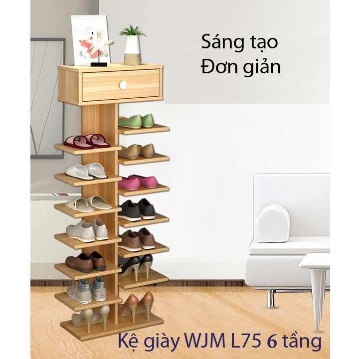 Giá giầy gỗ 7 tầng hình cây