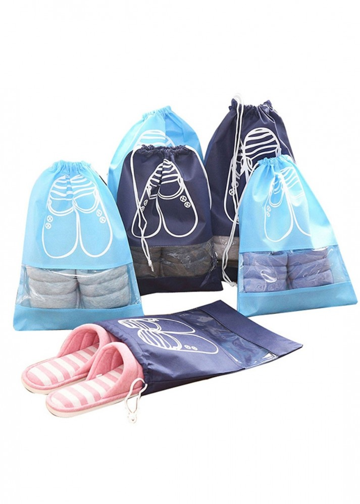 Set 5 túi đựng giầy dây rút