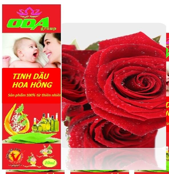 Tinh dầu hoa hồng ODA 10ml