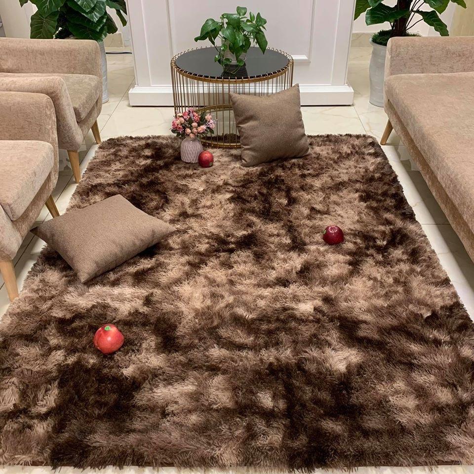 Thảm lông loang trải sàn 1m6x2m