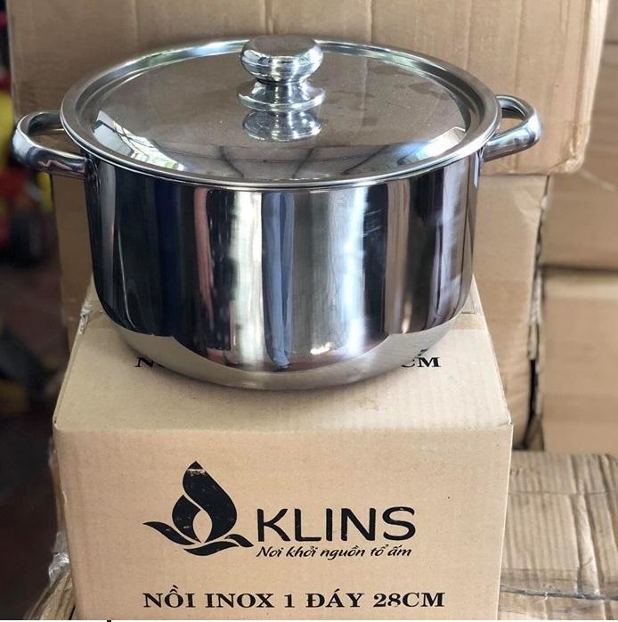 Nồi luộc gà Klins 28cm - nấu mọi loại bếp