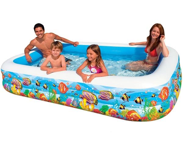 Bể bơi chữ nhật Intex 305x183x56cm (3 tầng)