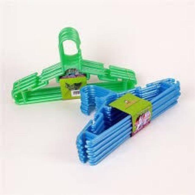 10 móc nhựa trẻ em