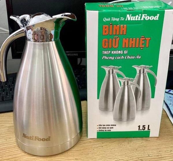 Bình giữ nhiệt 1,5L - quà Nuti