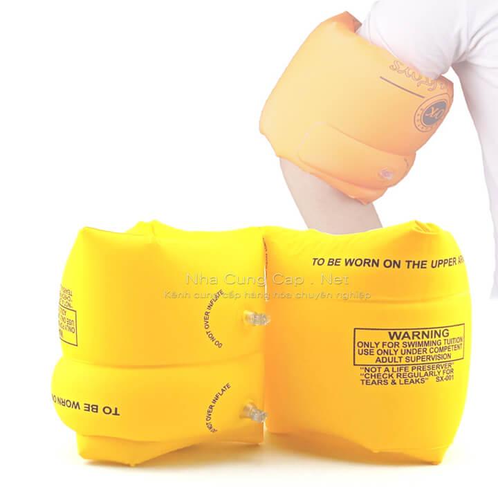 Phao tay an toàn, tiện lợi (hồng, cam, vàng, xanh)