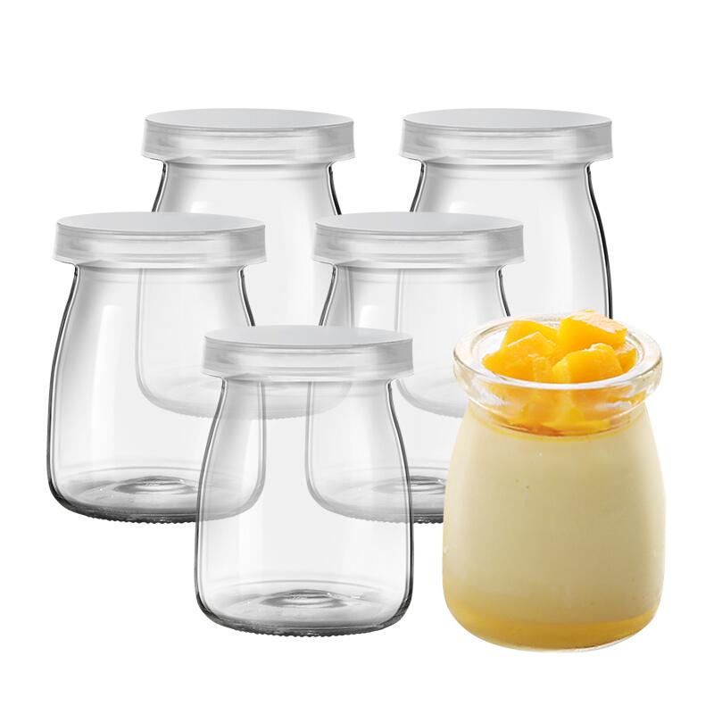 12 hũ thủy tinh đựng sữa chua 100ml trơn