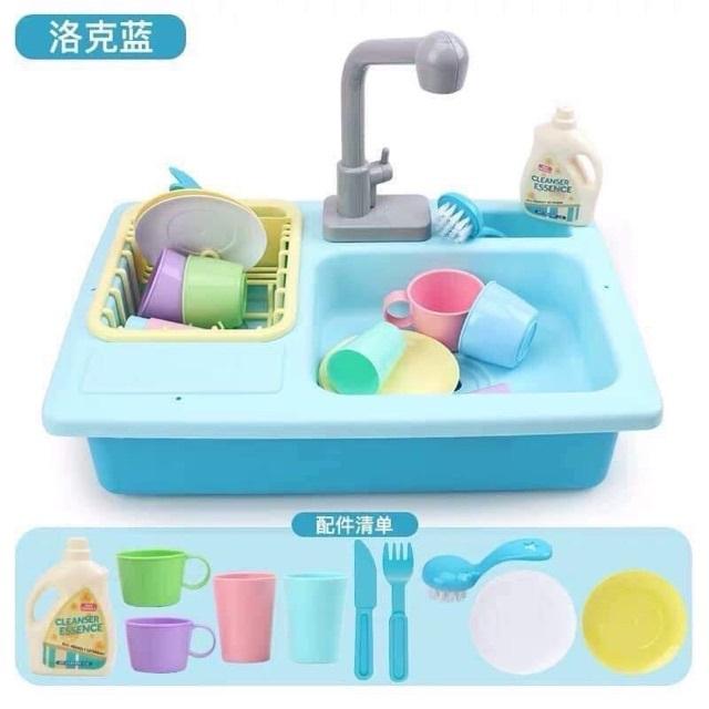 Bộ đồ chơi bồn rửa bát  cho bé