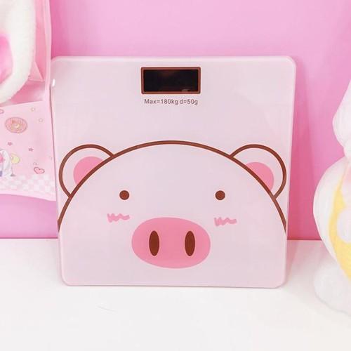 Cân điện tử lợn hồng