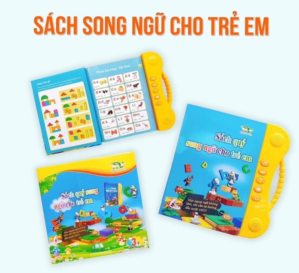 Sách nói điện tử song ngữ Anh - Việt Thanh Nga