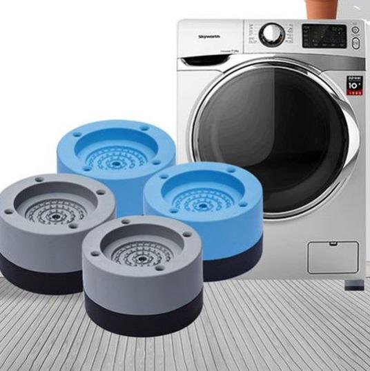 Set 4 đế chống rung máy giặt