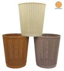 Sọt nhựa đan 5515-1 (ĐK 20cm, cao 24cm)