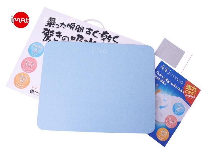 Thảm cứng (xanh dương dầy) siêu thấm công nghệ Nhật Bản