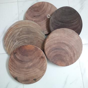 Thớt gỗ nghiến H4 (ĐK 25cm)